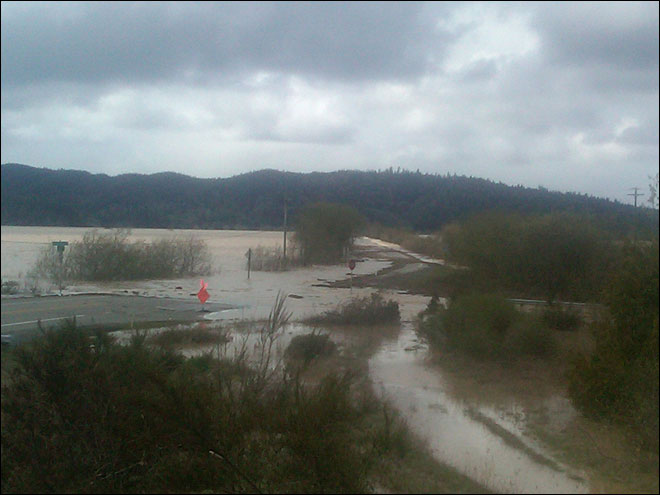 Next round of flooding on Coquille River forecast to exceed last week