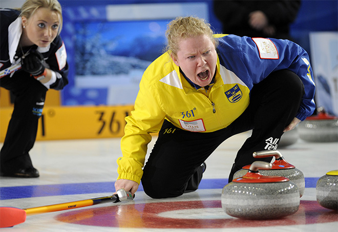 APTOPIX World Womens Curling Championships