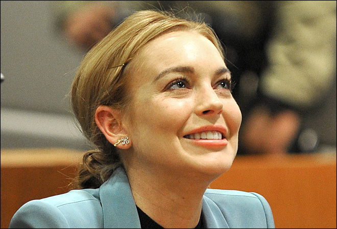 Lindsay Lohan arrested after allegedly hitting pedestrian