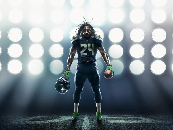 New Seahawks uniforms