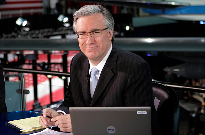 Keith Olbermann to host TBS baseball studio show