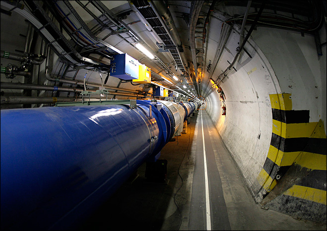 Scientists raise energy level at Big Bang machine