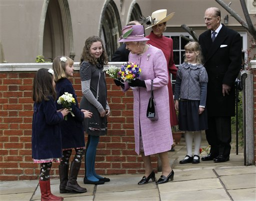 Britain Royal Easter