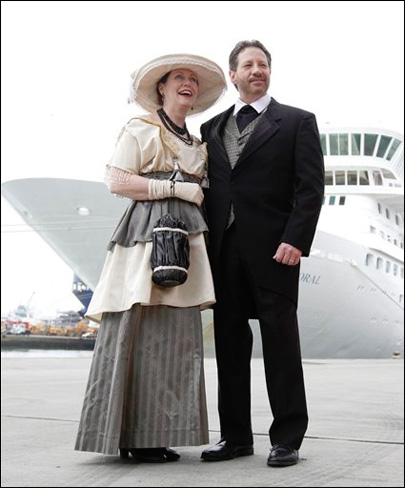 Cruise ship to retrace voyage of Titanic