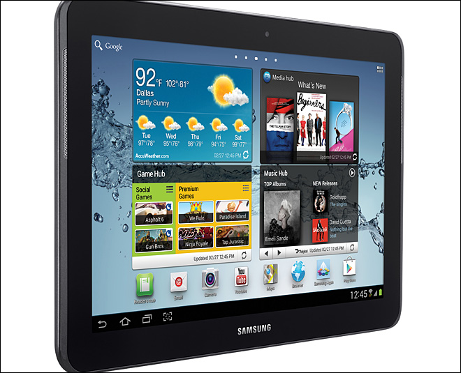 Judge orders halt to Samsung sales of Galaxy tab