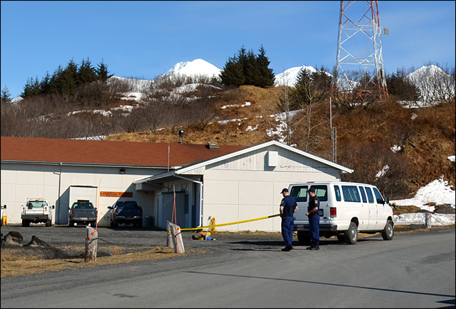 Man arrested in 2012 Alaska Coast Guard base deaths