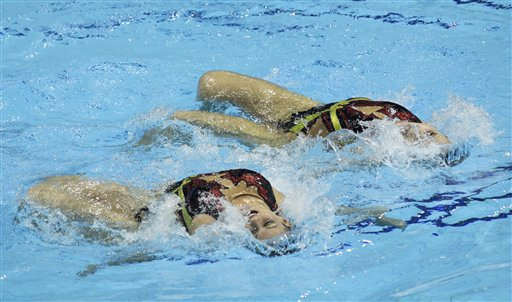 Britain Synchronised Swimming Olympic Qualification