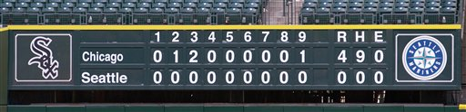Perfect Game White Sox Mariners Baseball