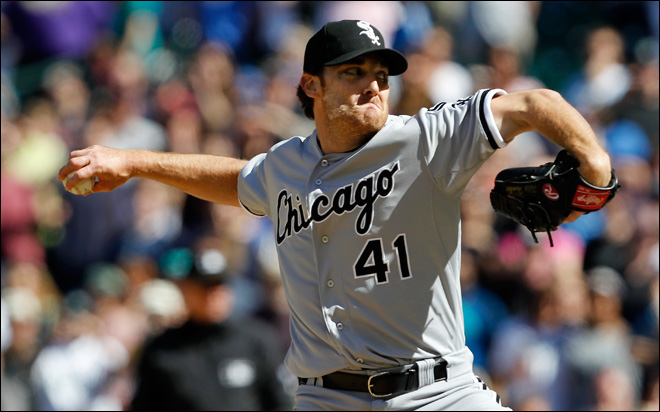 White Sox's Humber throws perfect game against M's