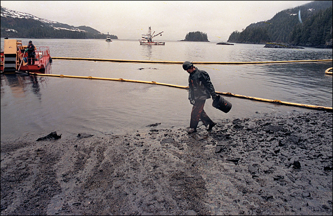 A look back 25 years later at the Exxon Valdez spill
