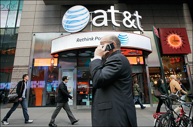 AT&T goes on spectrum shopping binge