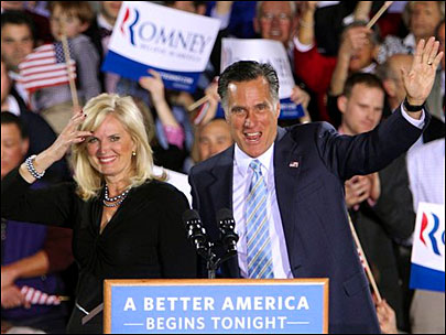Romney sweeps five wins, promises 'better America'