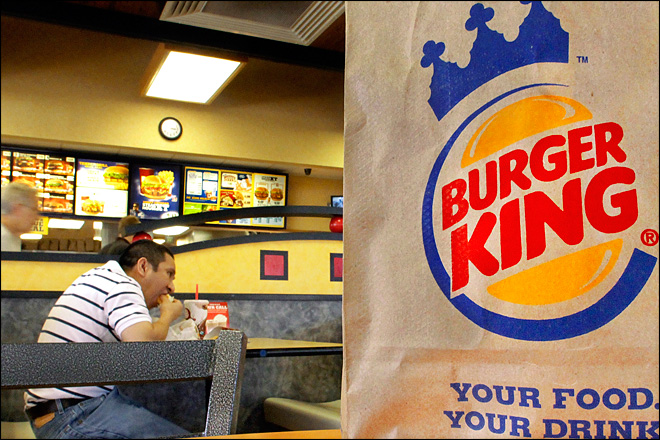 Burger King 2Q profit rises, focuses on overseas