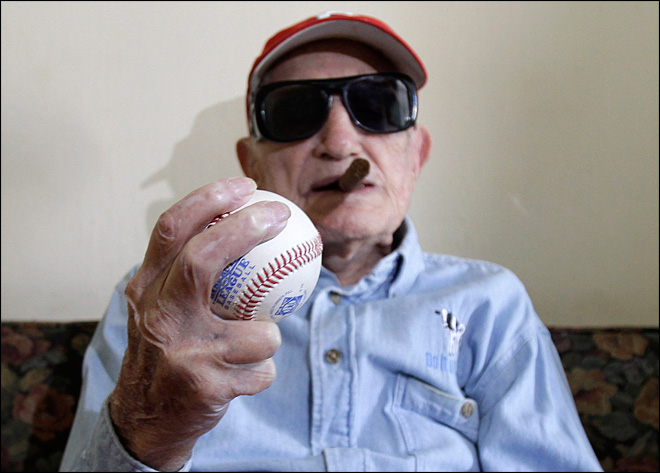 Oldest former major leaguer turns 101