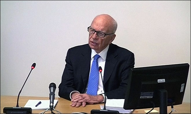 Rupert Murdoch: I panicked when I closed tabloid