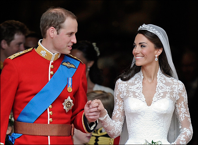 Kate & Wills eye 1-year wedding anniversary