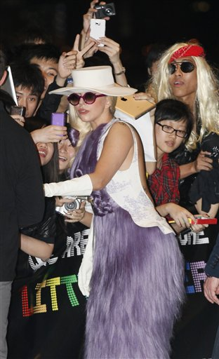 Hong Kong Lady Gaga