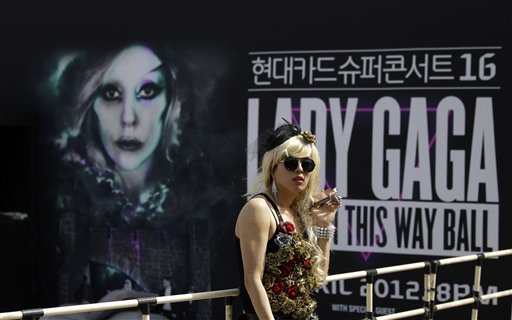 South Korea Lady Gaga