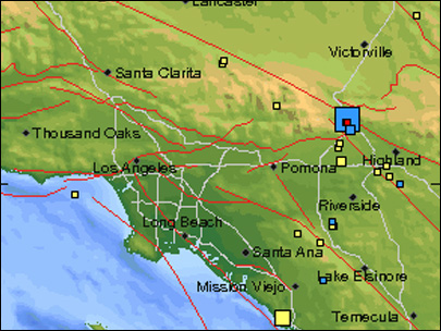 Moderate earthquake shakes Southern California