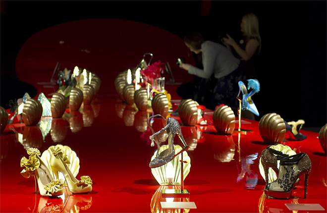 Britain Christian Louboutin Exhibition