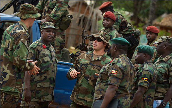 U.S. special forces hunting for warlord Kony