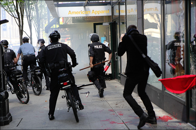Report: Experimental police tactics backfired with anarchists