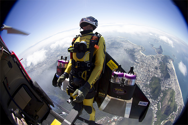 APTOPIX Brazil Jetman