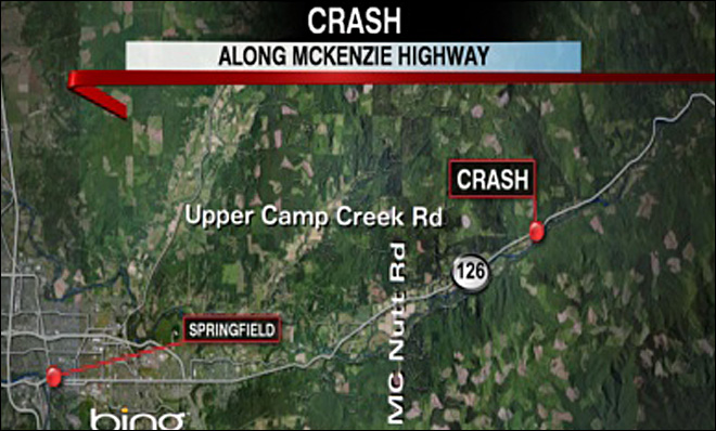 State Police: 'Serious Injury Crash' on McKenzie Hwy