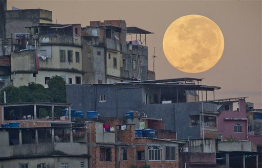 Brazil Supermoon