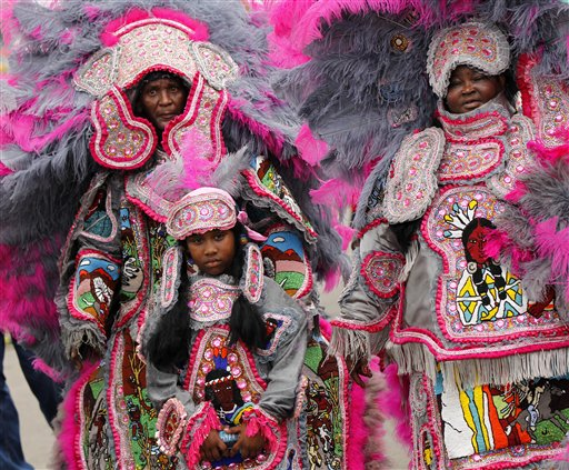 Music Jazz Fest Mardi Gras Indians