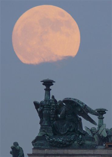 Russia Super Moon