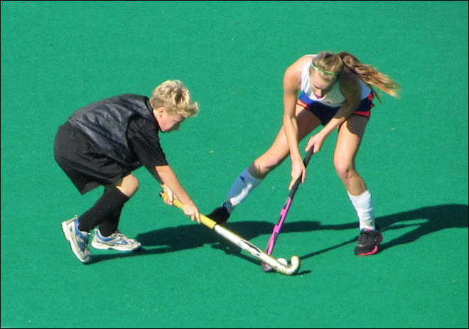 Boy, 13, fighting to stay on girls field hockey squad