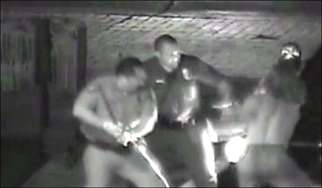 Officer in deadly arrest video: 'I just start smashing his face to hell'