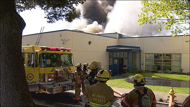 Three boys arrested for arson in Woodburn High School fire