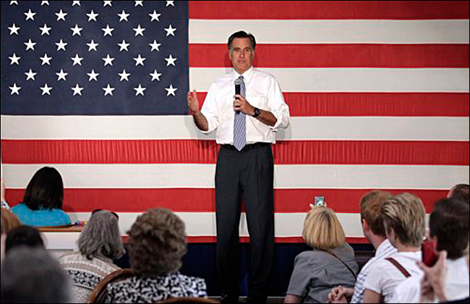 Romney to shift focus from gay rights to economy