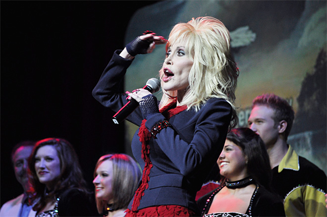 Dolly Parton Salute