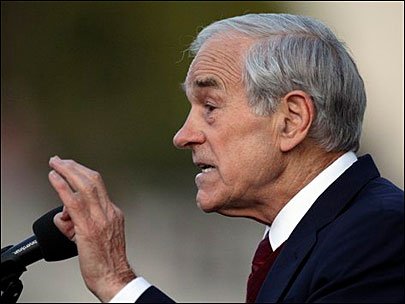 Ron Paul: 'We will no longer spend resources'