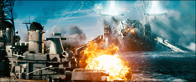 Review: 'Battleship' loud, dumb but stays afloat