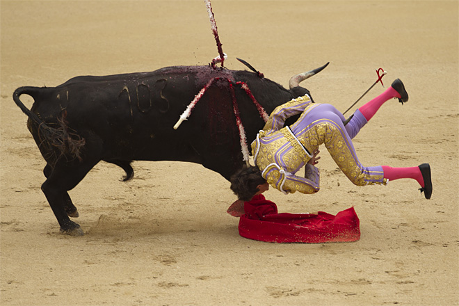 APTOPIX Spain Bullfight