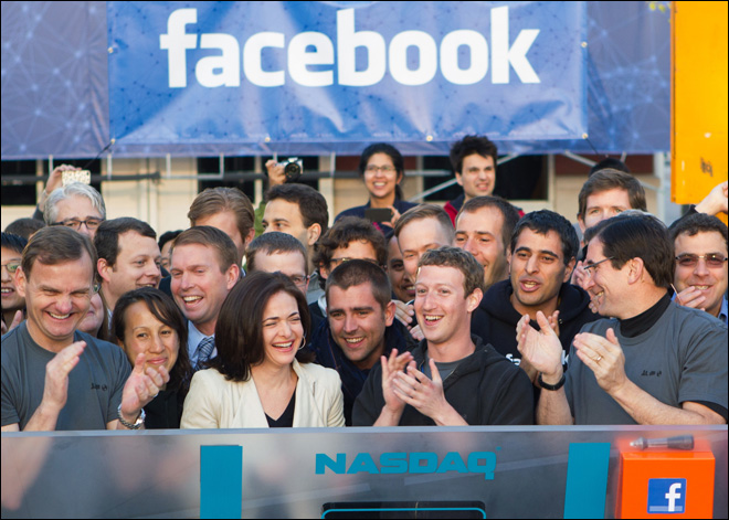 Facebook passes $38 initial public offering price