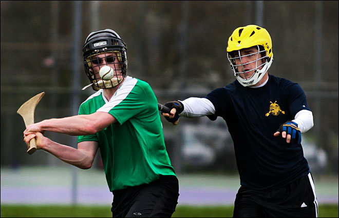 Ancient sport of hurling finds a home in Eugene