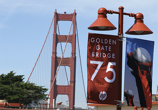 Golden Gate 75th