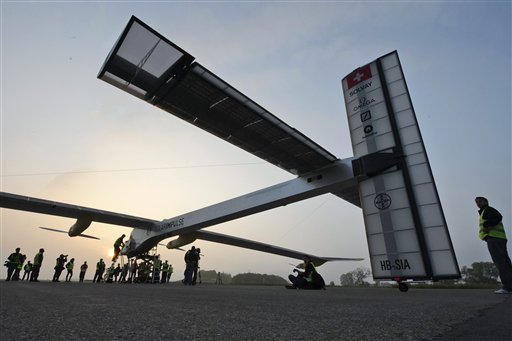 Switzerland Solar Impulse
