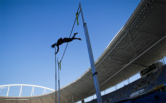 APTOPIX Brazil Athletics GP