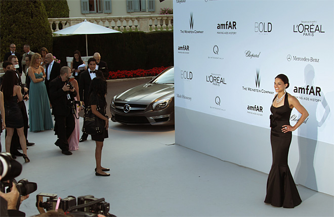France Cannes amFAR Arrivals