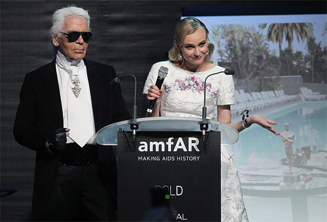 France Cannes amFAR Show