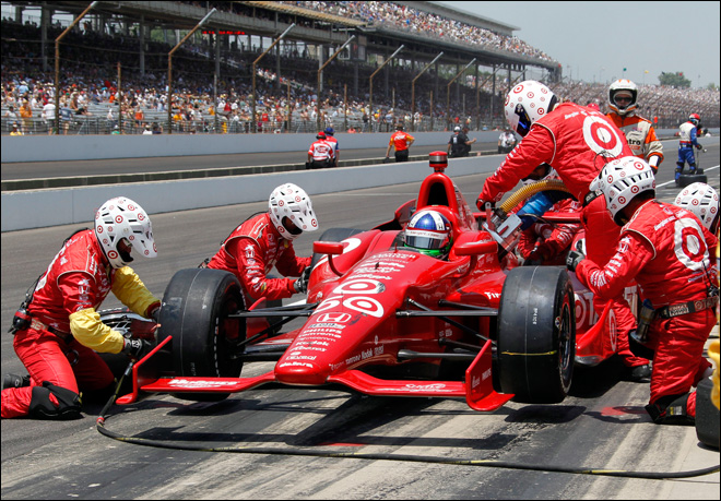 Franchitti wins Indy 500 for third time