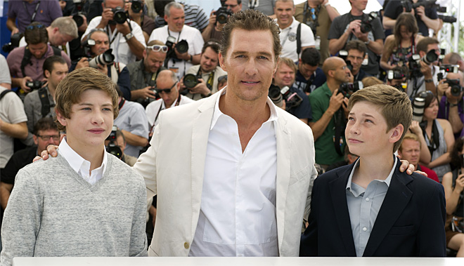 France Cannes Mud Photo Call