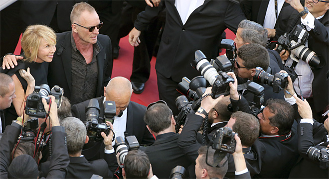 France Cannes Mud Red Carpet