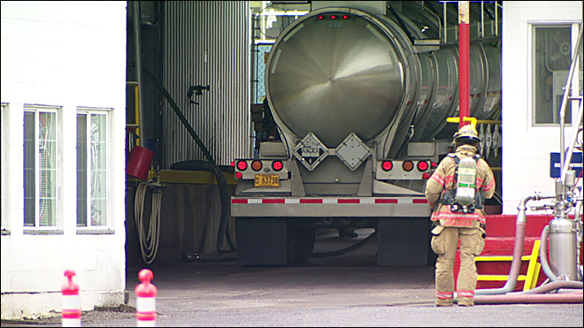 11 people injured in chemical mishap at milk plant